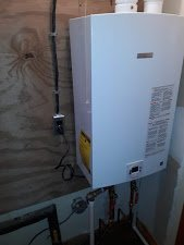 Tionesta, PA 16353 -- Completed Installation of new Bosch Tankless Water Heater.