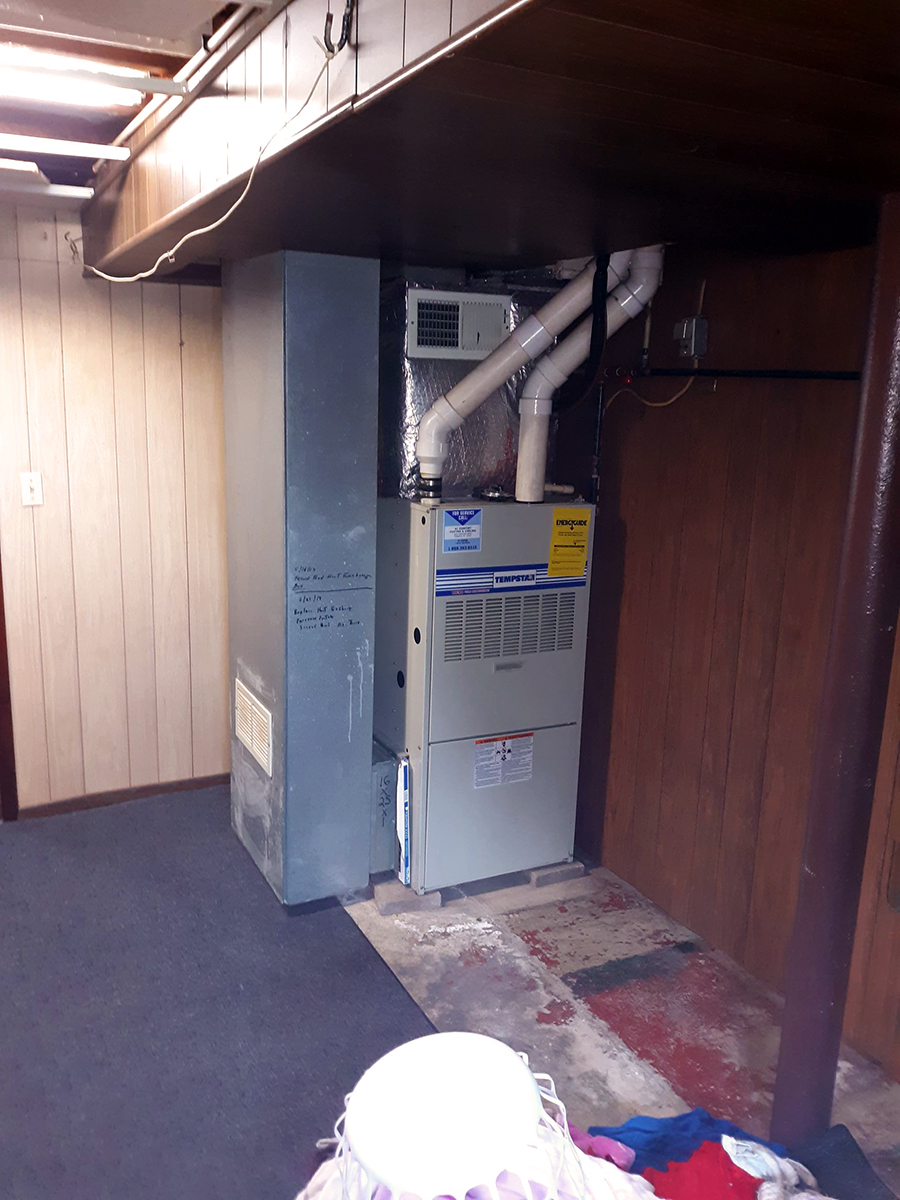 Repaired two heat exchanges Tionesta, PA 5-21-2019