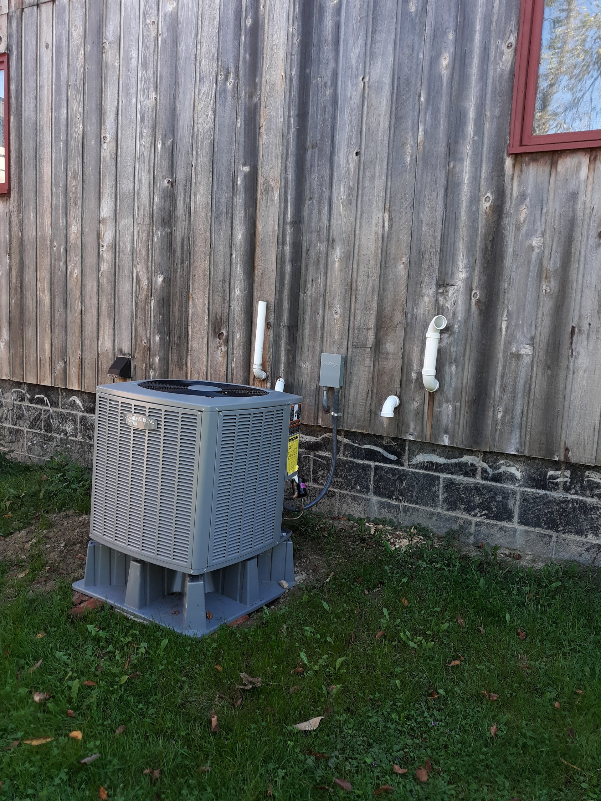 September, 2019 — Titusville, PA., Fujitsu Mini-Split System, Armstrong Furnace 95% EFF, and Armstrong Air Conditioner 3-ton.