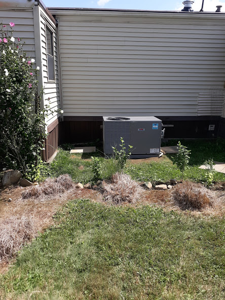 "August, 2020  Kennerdale, PA  16374 |  Supplied and installed new Heil Air Conditioner Model KTP0B 3-ton, 14 SEER. | Supplied and Installed 34"" x 58"" x 3"" heavy-duty plastic-pad .   