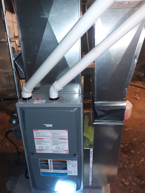 INSTALLATION MARCH 2021--TIONESTA, PA  16353 Armstrong furnace 95% EFF Model A95UH1E070B12S, 66,000 BTU Input and 64,000 BTU Output
