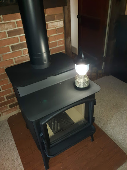 June, 2020-Sheffield, PA  16347 Customer wanted us to complete the remodeling of the the camp with the installation of a wood burner.  They provided all the materials and the burner, and we installed.