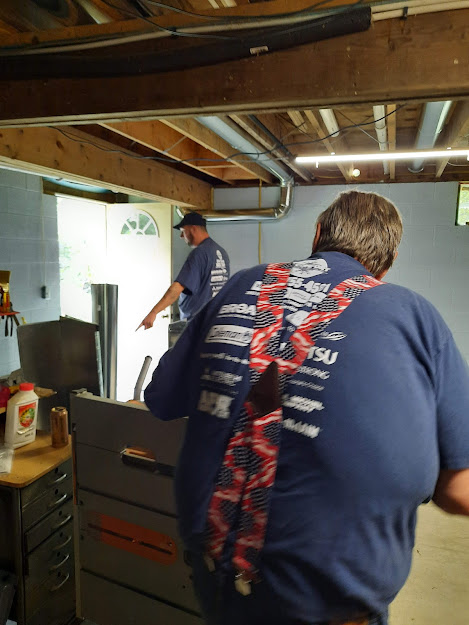 New furnace and ductwork installation  Pleasantville, PA 16341  September, 2021