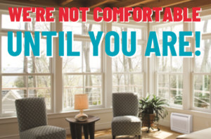 Read more about the article We're Not Comfortable Until You Are!